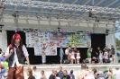 Bibliotekarze podczas Dnia Dziecka w amfiteatrze w Międzyzdrojach 01.06.2018 r.