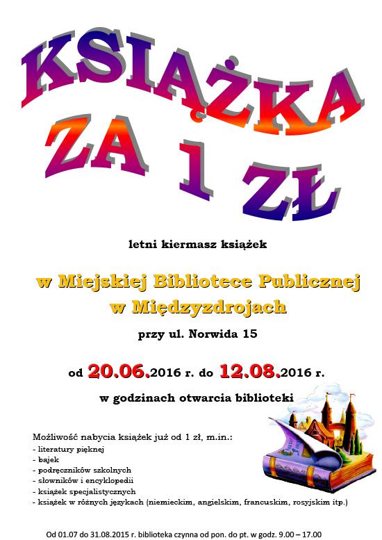 2016 - Biblioteka Międzyzdroje